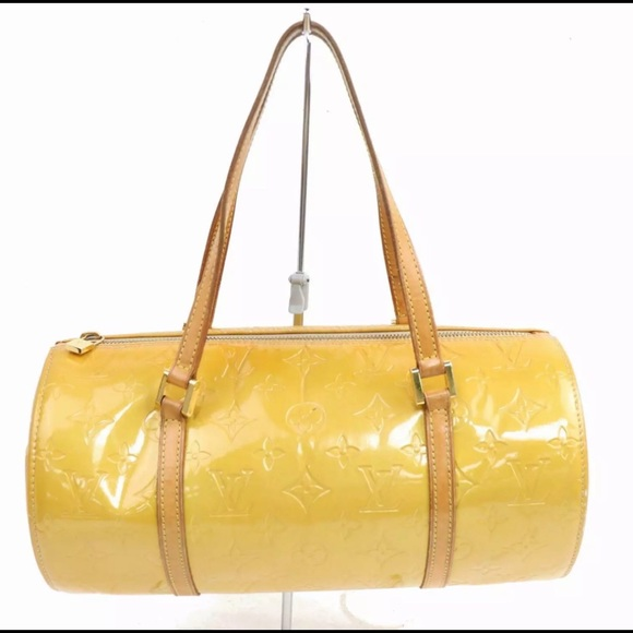 Louis Vuitton Handbags - LOUIS VUITTON Yellow Vernis Signature LV Bedford